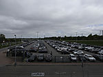 großer Parkplatz in Norddeich