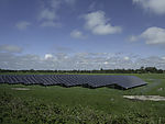solar park in northern Germany