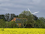 solar and wind power and bioenergy