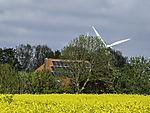 Windkraft Solarzellen und Bioenergie