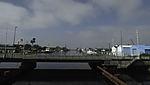 Brücke im Hafen von Emden
