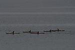 kayak paddlers near Tromso