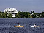Wassersport der Außenalster