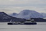 Fischtransporter Ro Fortune im Straumsfjorden