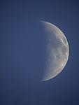 half Moon waxing crescent