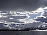Wolken über Kvalöya