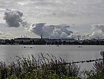 Quellwolken über Hamburg