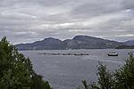 Fischzucht im Kaldfjorden