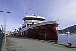 Fischtransporter Dønnland in Tromsö
