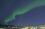 aurora in Big Dipper over Tromso