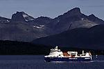 gas powered Samskip Kvitnos near Tromso