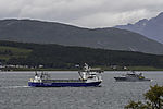 salmonfood transport ship Rubin and KV Farm