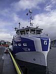 sercice vessel Frøy Finnmark in Tromso