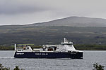gasbetriebene Frachtfähre Samskip Kvitbjörn