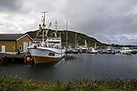 boat harbour on island Hillesöya