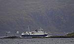ferry Skutvik before island Edöya
