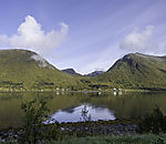 Sommerwolken über Finndalen