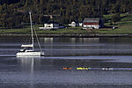 water sports in northern Norway