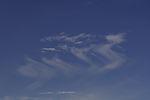 feather clouds mit precipitation trails