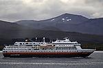 Hurtigruten Expeditionsship Otto Sverdrup near Tromso
