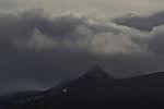 Mjeldskardtinden und Wolken