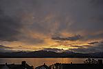 evening light over island Kvalöya