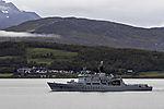 coast guard KV Andenes before island Haaköya
