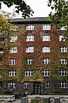 roter Herbst in Hamburg