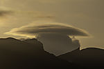 pilzförmige Wolke über Lille Blaamannen