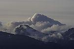 Wolken über Berg Hollendaren