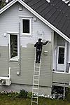 Malerarbeiten am Haus