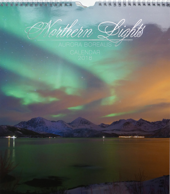 Kalender 2018 Northern Lights – Aurora borealis